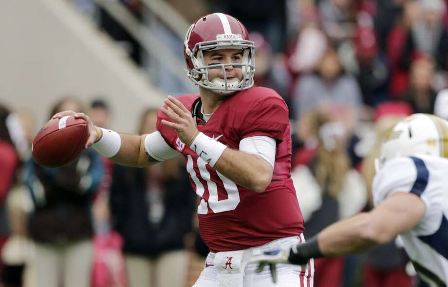 1. Alabama Photo: Dave Martin, Associated Press
