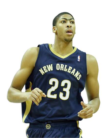 Anthony Davis is averaging 20 points and 11 rebounds in his second season in New Orleans. Photo: Andy Lyons / Getty Images