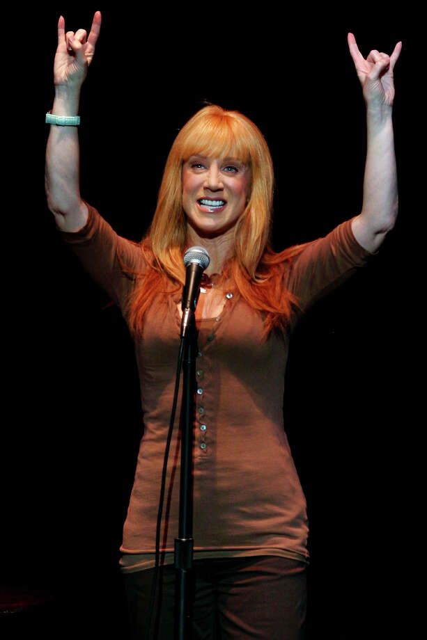 """My Life on the D-List"" star Kathy Griffin brings her stand-up comedy act to the Majestic Theatre, Thursday, July 19, 2007.  Photo: NICOLE FRUGE, SAN ANTONIO EXPRESS-NEWS / SAN ANTONIO EXPRESS-NEWS"
