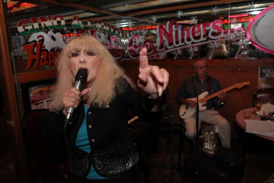 Have seen Carol Doda strip at the Condor Club or sing at Gino and Carlo. Photo: Audrey Whitmeyer-Weathers, Special To The Chronicle