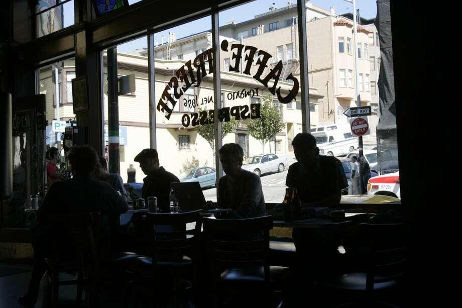 Caffe Trieste Photo: Penni Gladstone, The Chronicle