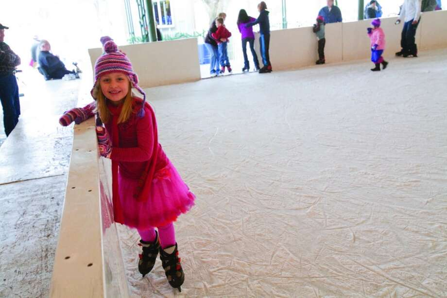 The Eisbahn (ice rink) is a winter tradition in Fredericksburg. Photo: Courtesy Photo, Fredericksburg CVB