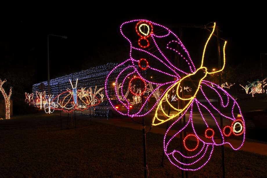 Butterflies are included in the Hidalgo Festival of Lights Photo: Courtesy Photo, Hidalgo FOL