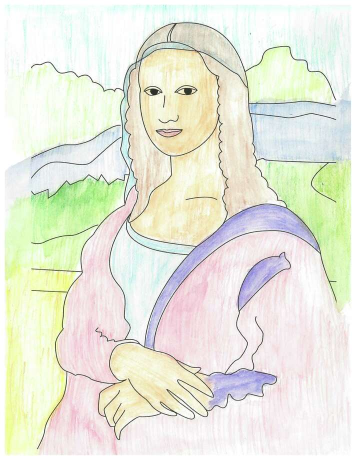 "Italian artist Leonardo da Vinci's classic ""Mona Lisa,"" will get an updated and modern remake during a Creative Kids session at Stepping Stones Museum for Children on Saturday, Dec. 7, 2013. For more information about participating, visit http://steppingstonesmuseum.org. Photo: Contributed Photo / Stamford Advocate Contributed"
