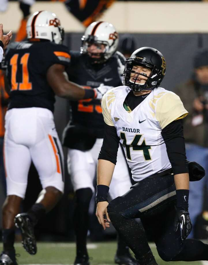Baylor goes bust in the Big 12 stare-down at Oklahoma St.