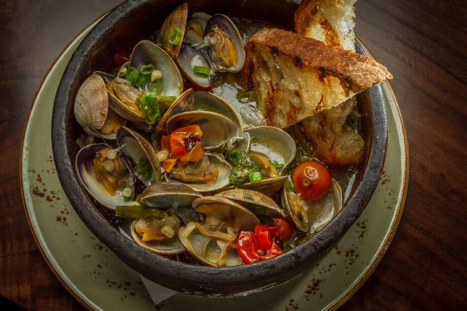 The Wood Oven Clams at Fog City in San Francisco. Photo: John Storey, Special To The Chronicle