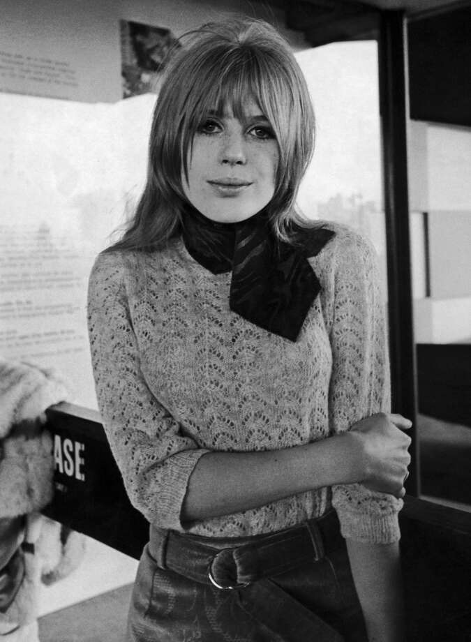British actress and singer Marianne Faithfull, in 1966, the year she started dating Mick Jagger. (Photo by Keystone-France/Gamma-Keystone via Getty Images) Photo: Keystone-France, Gamma-Keystone Via Getty Images