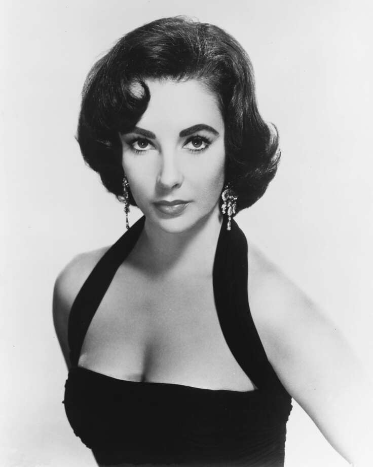"Elizabeth Taylor famously had seven husbands and played another famous ""it girl"" on screen: Cleopatra.(Photo by Silver Screen Collection/Getty Images) Photo: Silver Screen Collection, Getty Images"