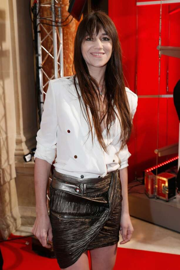 "Actress and singer Charlotte Gainsbourg is the daughter of British ""it girl"" Jane Birkin, who also inspired a Birkin bag. (Photo by Rindoff Petroff/Durand/French Select via Getty Images) Photo: Rindoff Petroff/Durand"