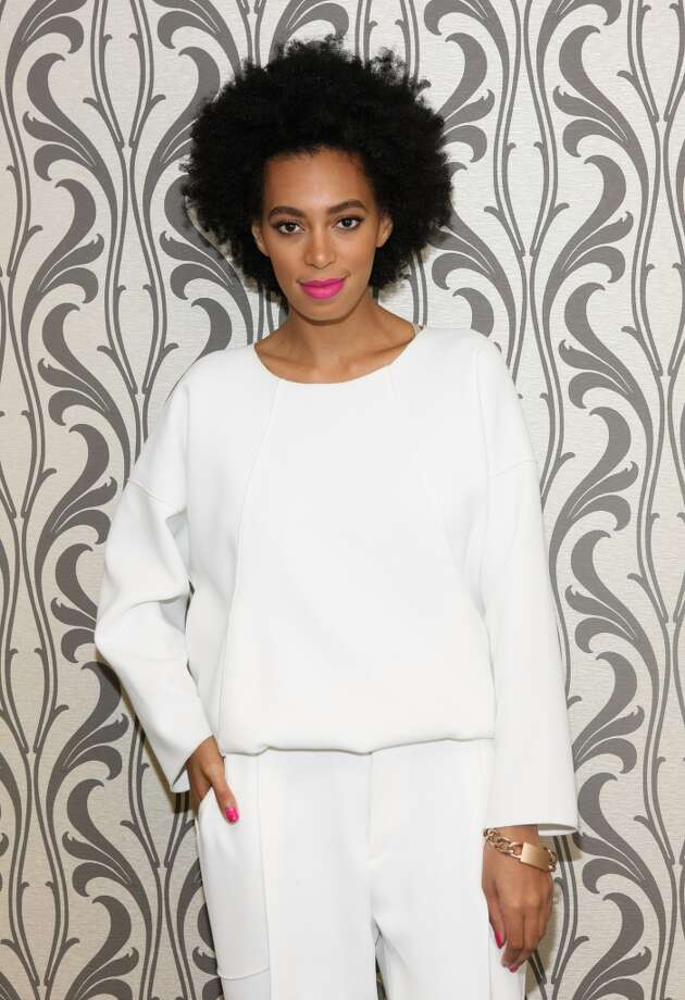 Recording artist Solange Knowles's iconic personal style has helped her come out from the shadow of sister Beyonce. (Photo by Bennett Raglin/BET/Getty Images for BET) Photo: Bennett Raglin/BET, Getty Images For BET