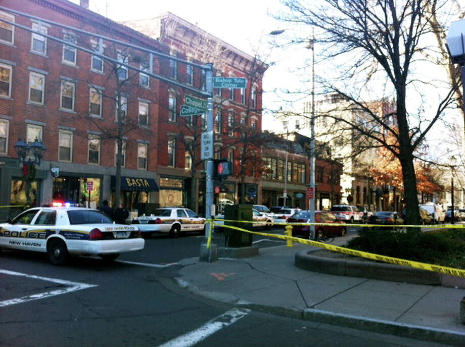There is a confirmed report of a person with a gun on or near YaleâÄôs Old campus area, near Chapel and High streets in New Haven, Conn. on Monday, Nov. 25, 2013, officials say. Photo: B.K. Angeletti / Connecticut Post