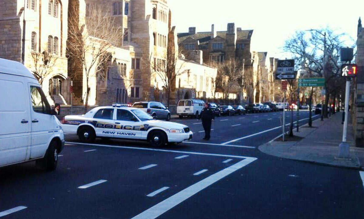 There is a confirmed report of a person with a gun on or near YaleâÄôs Old campus area, near Chapel and High streets in New Haven, Conn. on Monday, Nov. 25, 2013, officials say.