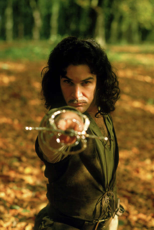"""Hello, my name is Inigo Montoya. You killed my father. Prepare to die."" Mandy Patinkin played the swordsman out to avenge the death of his father. Photo: Twentieth Century Fox Film Corporation Photography"