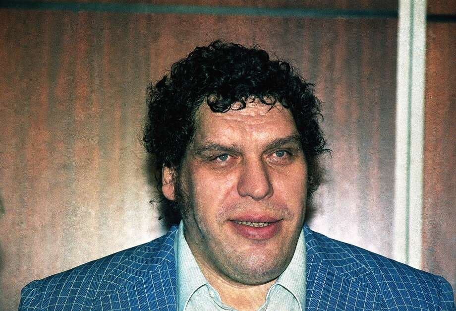 Andre the Giant in 1988. He died in 1993. Photo: AP Photo/Richard Drew