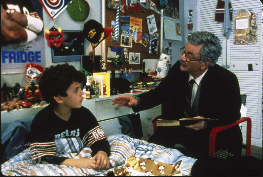 The grandson and grandpa (Fred Savage and Peter Falk). Photo: MGM
