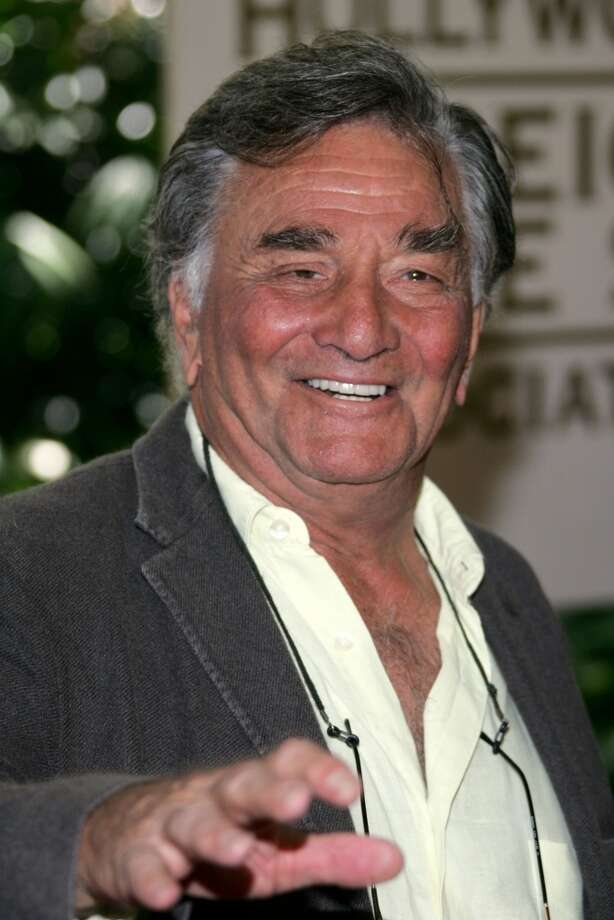 Actor Peter Falk in 2007. He died in 2011. Photo: Frazer Harrison/Getty Images