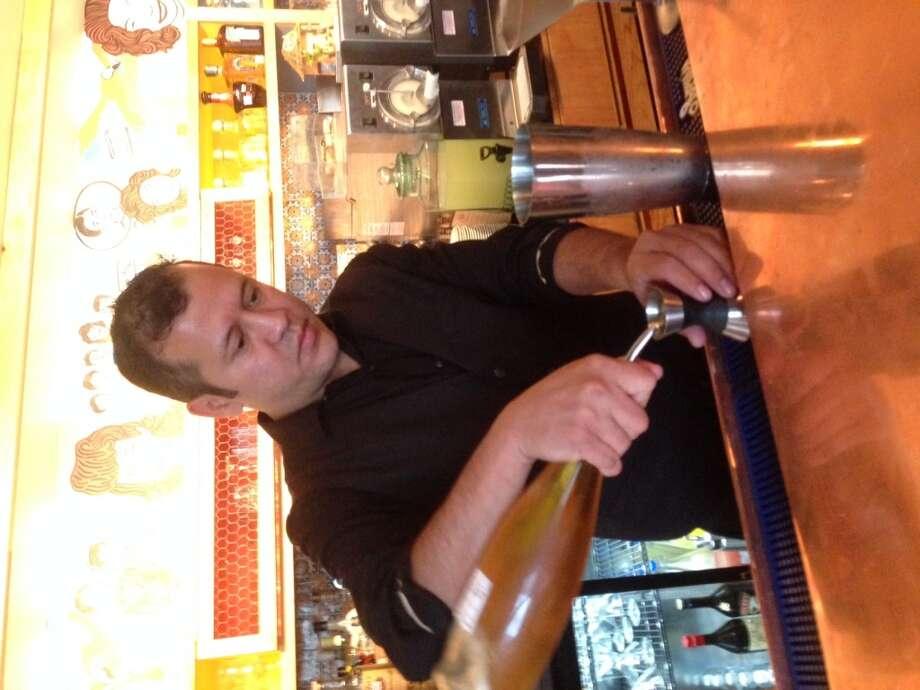 Nelson Serrano, the new beverage manager at Ninfa's on Navigation. (Photo: Greg Morago)
