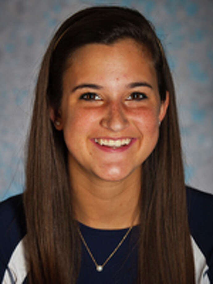 Taylor Erwin had no kills in Emory's victory over Colorado College on Nov. 17. Photo: Courtesy Of Emory University