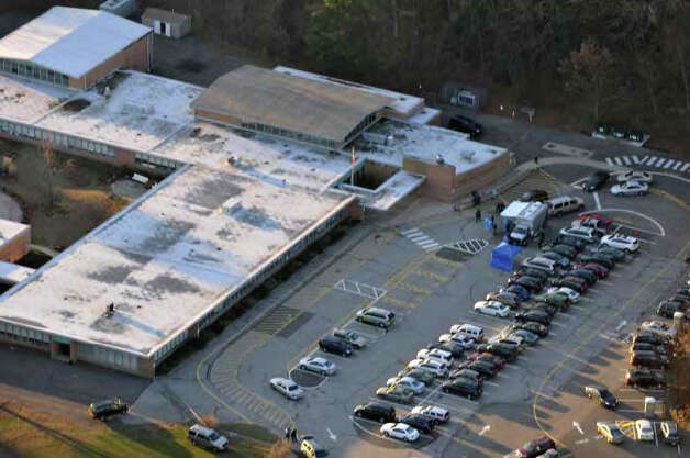 Photos of Sandy Hook Elementary School pulled from the Report of the