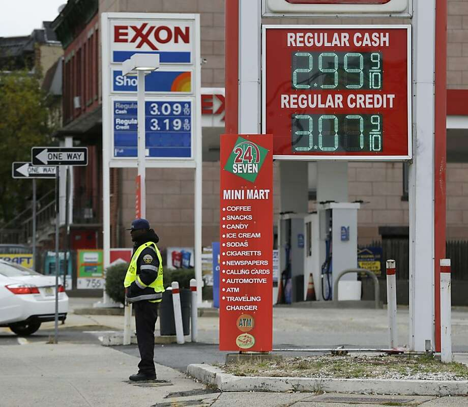 Gas prices have stopped falling and are beginning to rise again. Photo: Julio Cortez, Associated Press