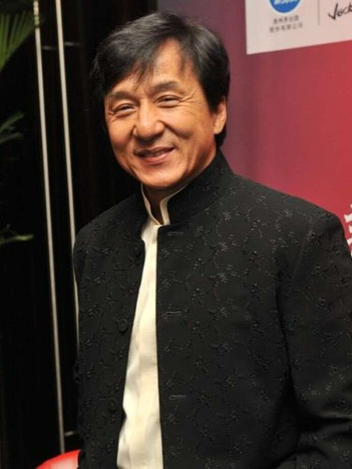 For years, Jackie Chan has been doing commercials for Mitsubishi. Photo: ChinaFotoPress