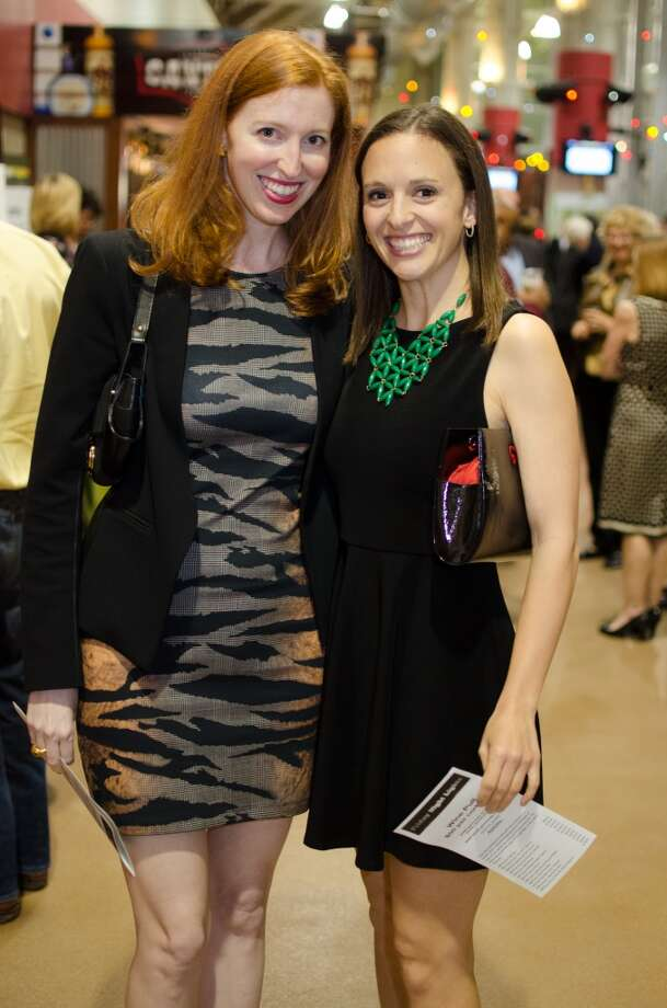 Charlotte Cameron and Emily Duncan at Friday Night Lights Benefiting Depelchin Children's Center on Friday, Nov. 15. Photo: Jamaal Ellis, For The Chronicle