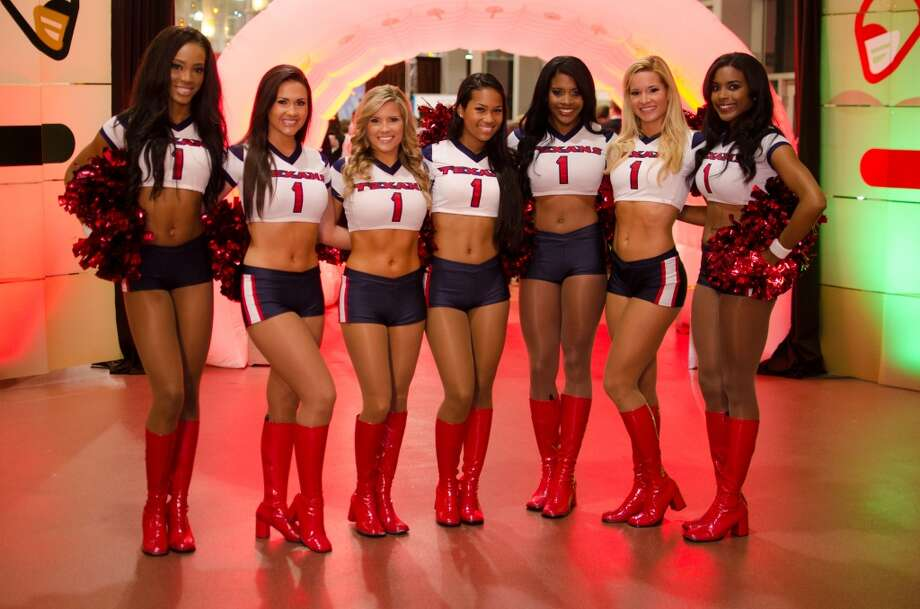 Houston Texans Cheerleaders make an appearance during Friday Night Lights Benefiting Depelchin Children's Center on Friday, Nov. 15. Photo: Jamaal Ellis, For The Chronicle