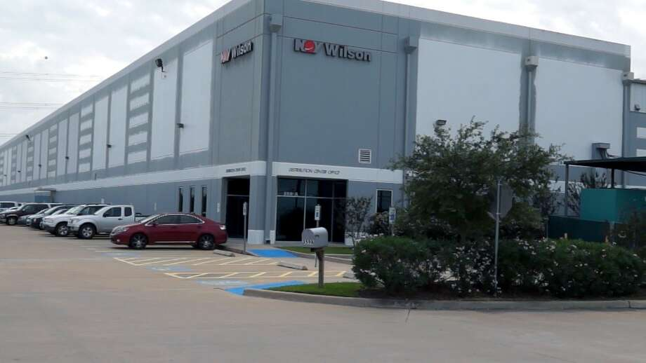 National Oilwell Varco's distribution center in La Porte, Texas.