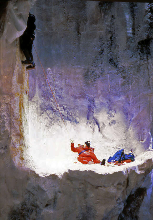 "Ming Cho Lee, of the Yale School of Drama faculty, won a Tony in 1983 for his set design for the mountain-climbing drama ""K2."" A new exhibit in his honor is on view at Yale through Feb. 1. Photo: Contributed Photo / Connecticut Post Contributed"