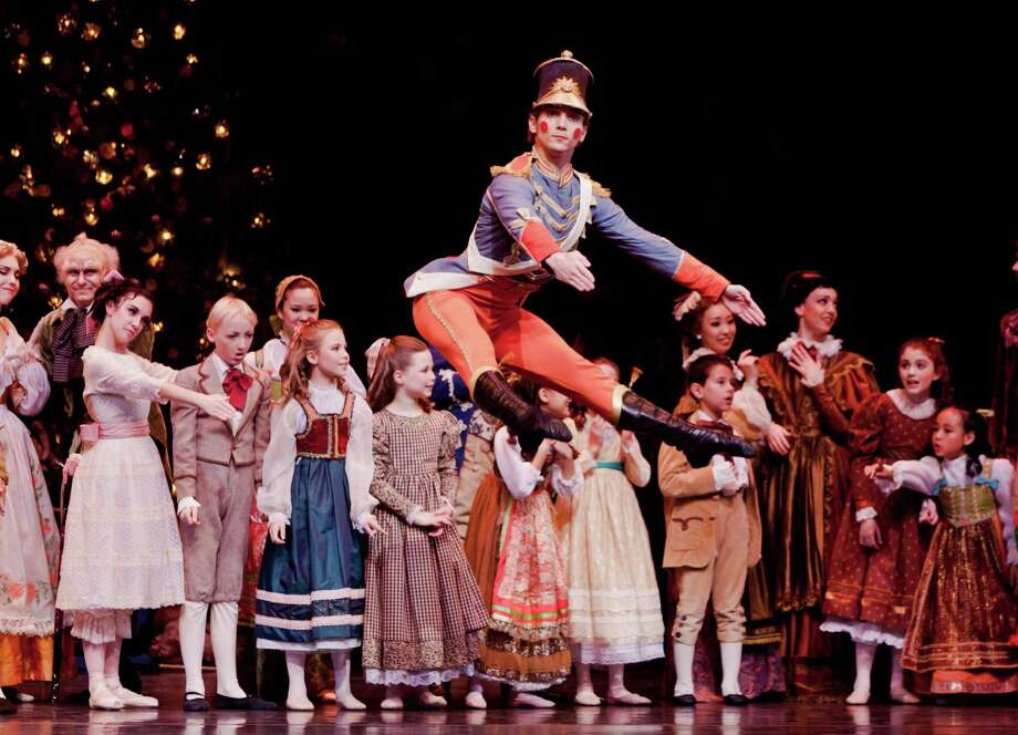 "Rhodes Elliott and dancers from the Houston Ballet perform ""The Nutcracker"" through Sunday, Dec. 29. Photo: Courtesy Of The Houston Ballet / Amitava Sarkar"