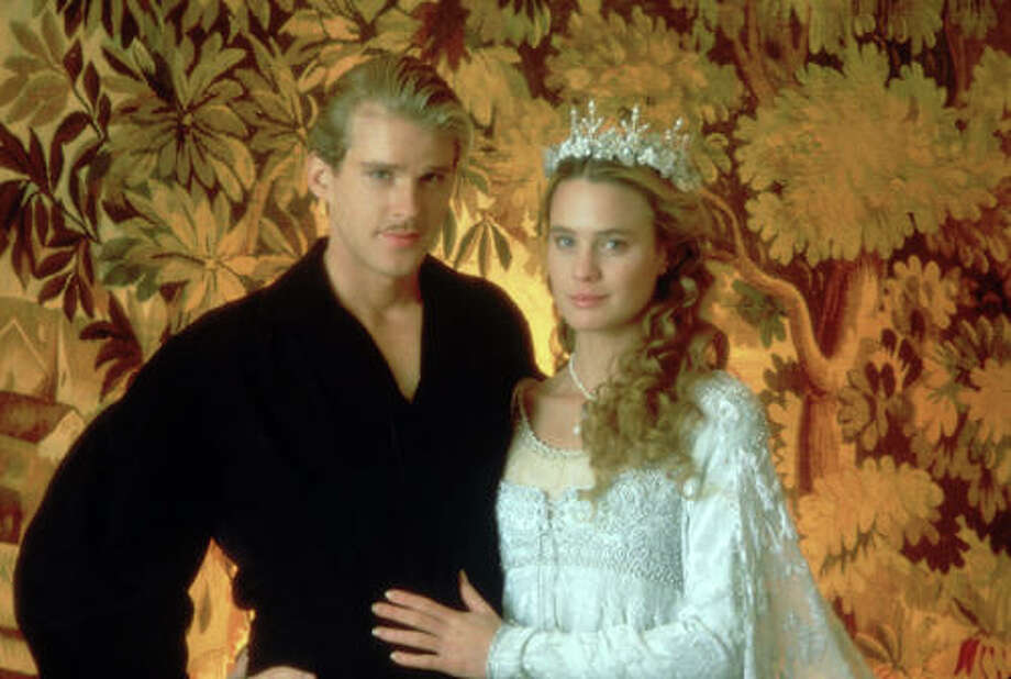 """The Princess Bride"" was released 25 years ago, on September 25, 1987. The cast reunited on Tuesday, Oct. 2, for an anniversary screening during the New York Film Festival. Let's take a look at the film and then cast now. Here, Westley/the Dread Pirate Roberts (Carey Elwes) and Princess Buttercup (Robin Wright). Photo: Twentieth Century Fox Film Corporation Photography"