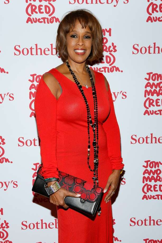 Gayle King attends Jony And Marc's (RED) Auction at Sotheby's on November 23, 2013 in New York City.  (Photo by Cindy Ord/Getty Images for (RED)) Photo: Cindy Ord