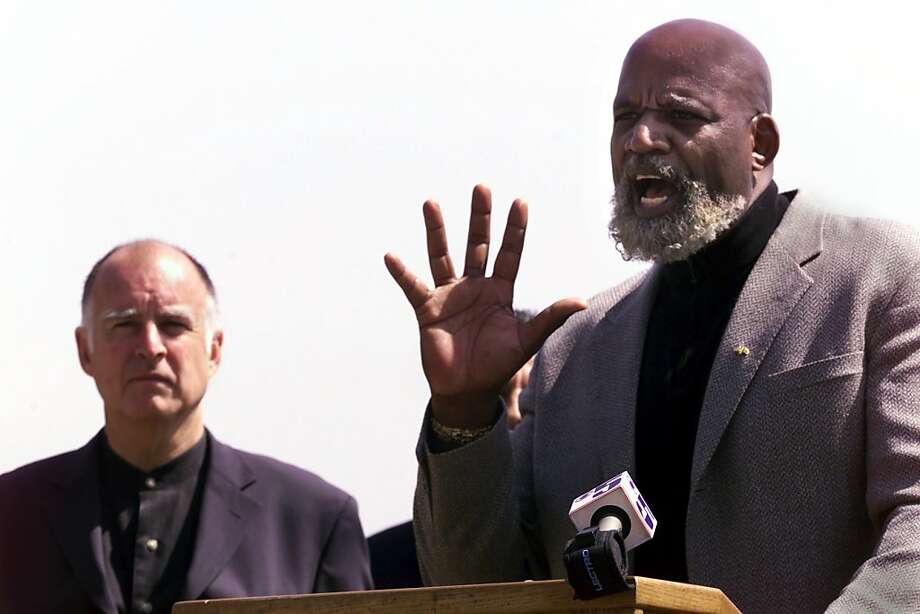 """""""It is scandalous,"""" said Harry Edwards, a professor emeritus of sociology at Cal. The African American activist  and scholar is a longtime critic of the athletic status quo. """"It's an  outrage, especially as this situation has been a topic of debate for at  least 30years."""" Photo: Susanna Frohman, CHRONICLE"""