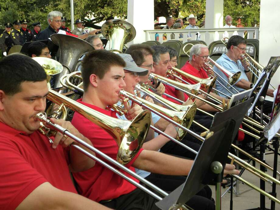The Boerne Concert Band, seen here in 2011, will perform a wide variety of music in a Dec. 15 concert at Boerne High School's auditorium. Photo: Courtesy Photo