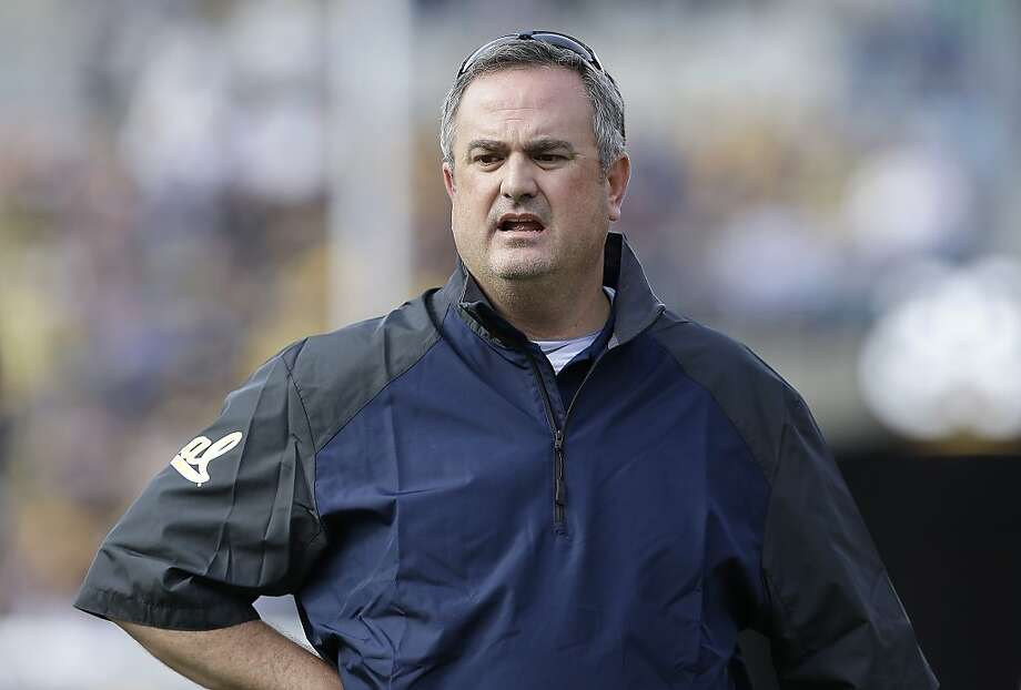 California head coach Sonny Dykes watches from the sideline during the second quarter of an NCAA college football game against Arizona in Berkeley, Calif., Saturday, Nov. 2, 2013. (AP Photo/Jeff Chiu) Photo: Jeff Chiu, Associated Press