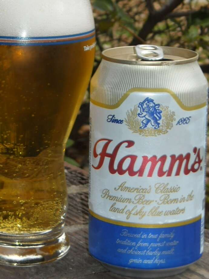 Hamm's Ice Brewed Ale and Hamm's Ice Brewed Beer. Not sure of the difference, but they're both on the AIA banned products list. Photo: Thebeerbuddha.com