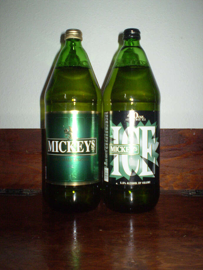 Of course: Mickey's Iced Brewed Ale and Mickey's Malt Liquor Photo: Flickr/youpeoplemakemesick