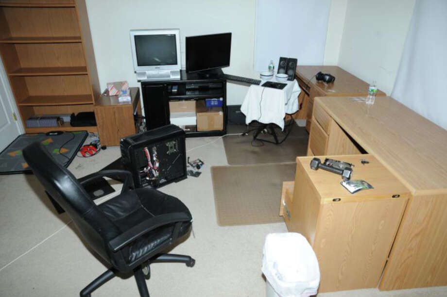 9- 2nd Floor computer room  Photos from the Report of the State's Attorney for the Judicial District of Danbury on the Shootings at Sandy Hook Elementary School and 36 Yoganda Street, Newtown Connecticut. Photo: Office Of The State's Attorney J / Connecticut Post contributed