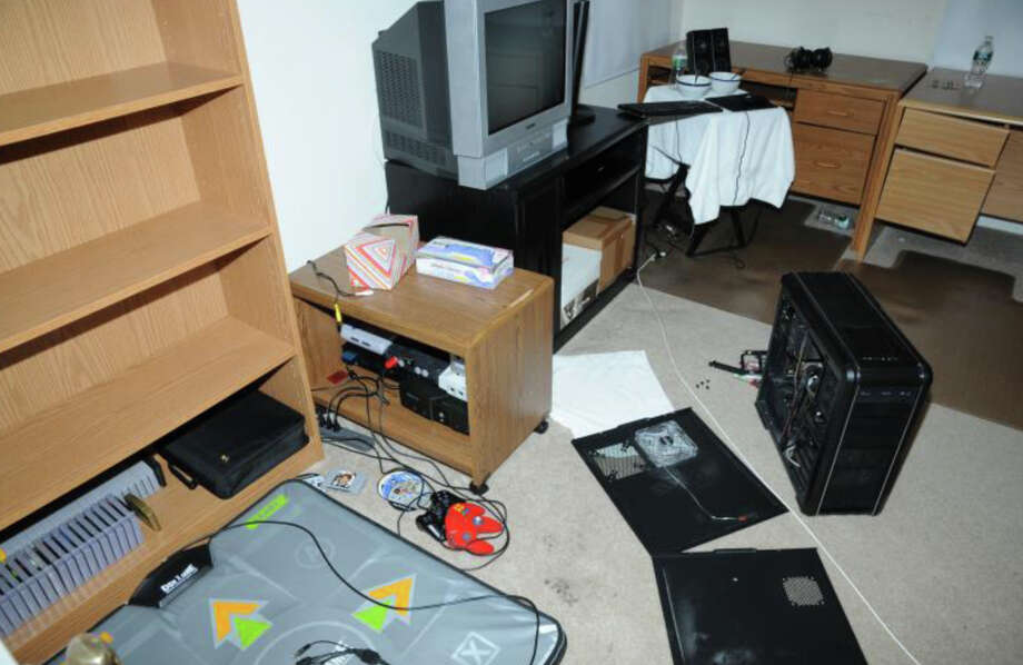 11- 2nd Floor computer room  Photos from the Report of the State's Attorney for the Judicial District of Danbury on the Shootings at Sandy Hook Elementary School and 36 Yoganda Street, Newtown Connecticut. Photo: Office Of The State's Attorney J / Connecticut Post contributed