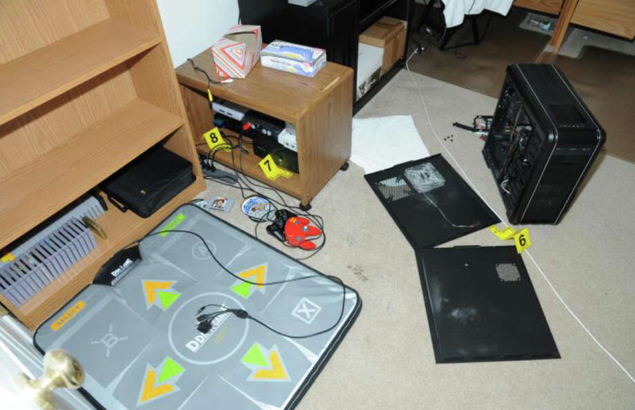 29- 2nd Floor computer room  Photos from the Report of the State's Attorney for the Judicial District of Danbury on the Shootings at Sandy Hook Elementary School and 36 Yoganda Street, Newtown Connecticut. Photo: Office Of The State's Attorney J / Connecticut Post contributed