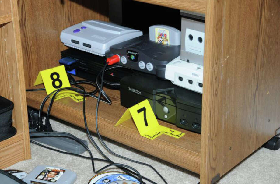 30- 2nd Floor computer room  Photos from the Report of the State's Attorney for the Judicial District of Danbury on the Shootings at Sandy Hook Elementary School and 36 Yoganda Street, Newtown Connecticut. Photo: Office Of The State's Attorney J / Connecticut Post contributed