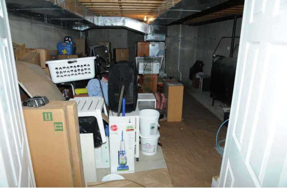 174- Basement   Photos from the Report of the State's Attorney for the Judicial District of Danbury on the Shootings at Sandy Hook Elementary School and 36 Yoganda Street, Newtown Connecticut. Photo: Office Of The State's Attorney J / Connecticut Post contributed