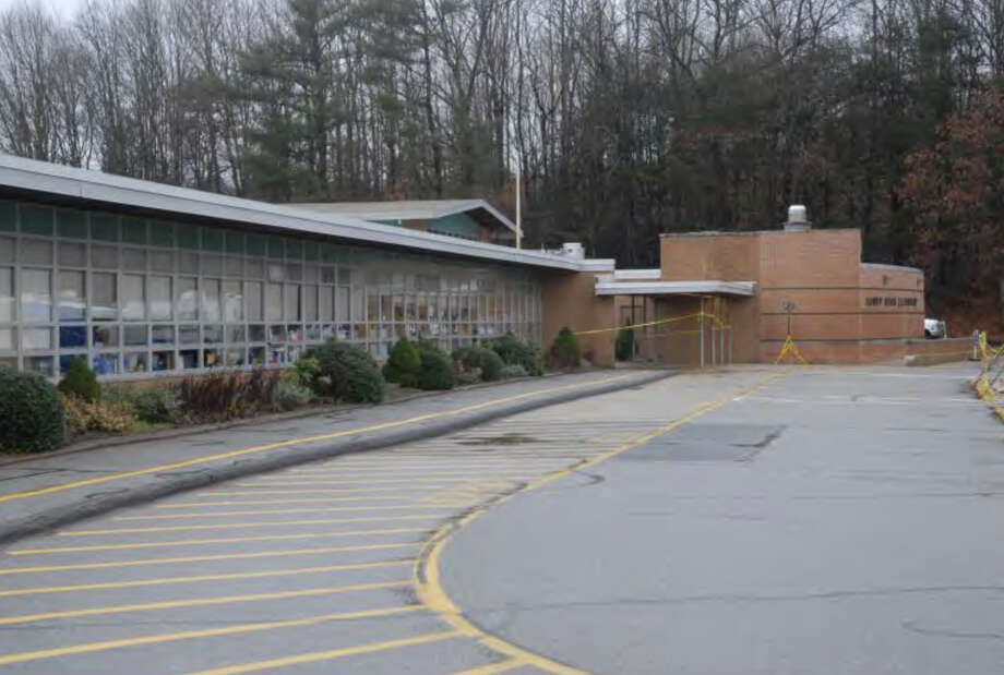 001- Front of SHES  Photos from the Report of the State's Attorney for the Judicial District of Danbury on the Shootings at Sandy Hook Elementary School and 36 Yoganda Street, Newtown Connecticut. Photo: Office Of The State's Attorney J / Connecticut Post contributed