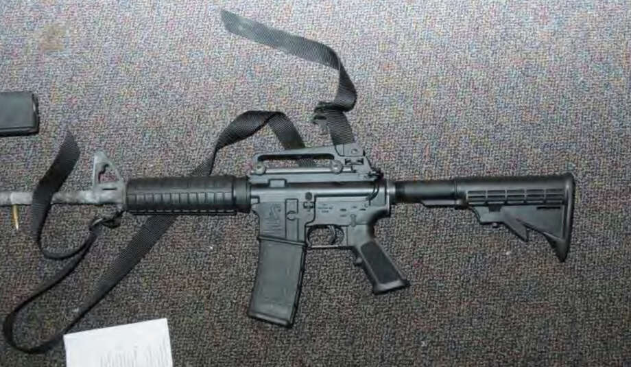 0187- Bushmaster - Rm 10  Photos from the Report of the State's Attorney for the Judicial District of Danbury on the Shootings at Sandy Hook Elementary School and 36 Yoganda Street, Newtown Connecticut. Photo: Office Of The State's Attorney J / Connecticut Post contributed
