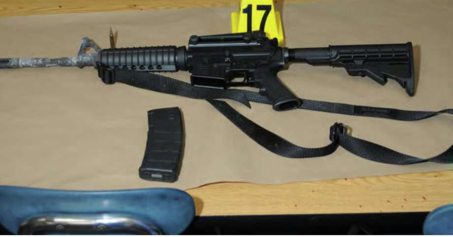 0458 Bushmaster  Photos from the Report of the State's Attorney for the Judicial District of Danbury on the Shootings at Sandy Hook Elementary School and 36 Yoganda Street, Newtown Connecticut. Photo: Office Of The State's Attorney J / Connecticut Post contributed