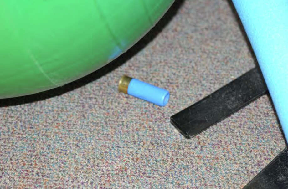 0740- Misc. shotgun shell (Federal Premium Tactical Rifled Slug, 12 ga. FOund in Rm 4) (#99)  Photos from the Report of the State's Attorney for the Judicial District of Danbury on the Shootings at Sandy Hook Elementary School and 36 Yoganda Street, Newtown Connecticut. Photo: Office Of The State's Attorney J / Connecticut Post contributed