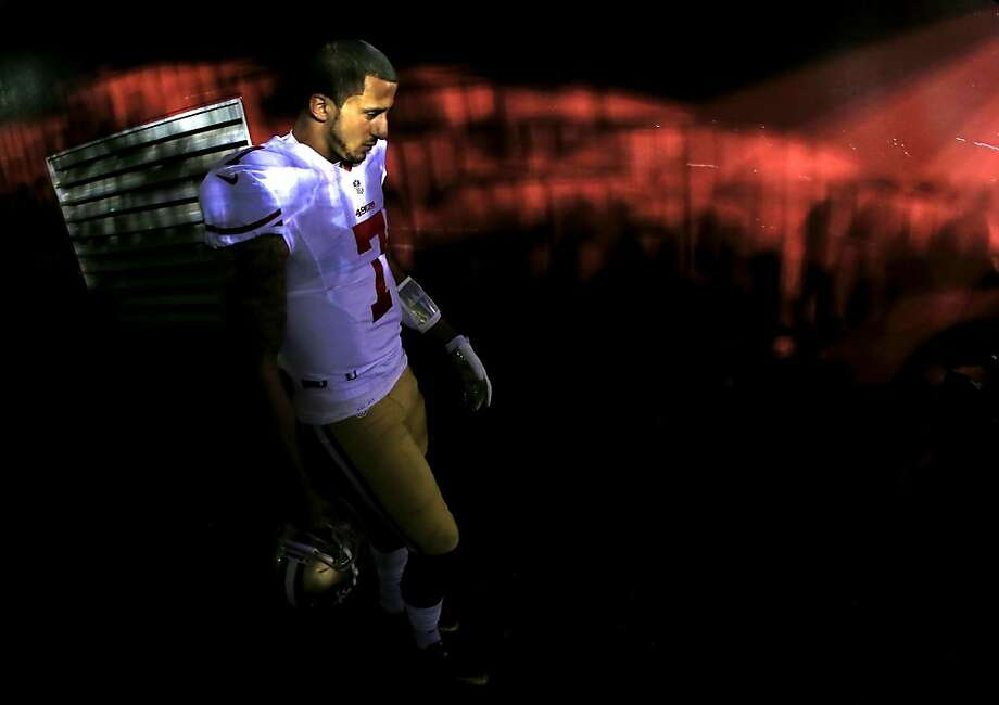 Colin Kaepernick Photo: Rob Carr, Getty Images