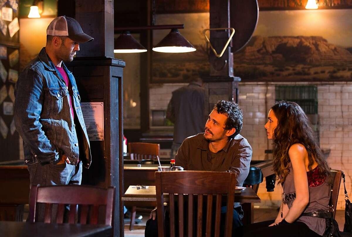 Jason Statham as Phil Broker, James Franco as Gator, and Winona Ryder as Sheryl Mott, directed by Gary Fleder, opening November 27, 2013.