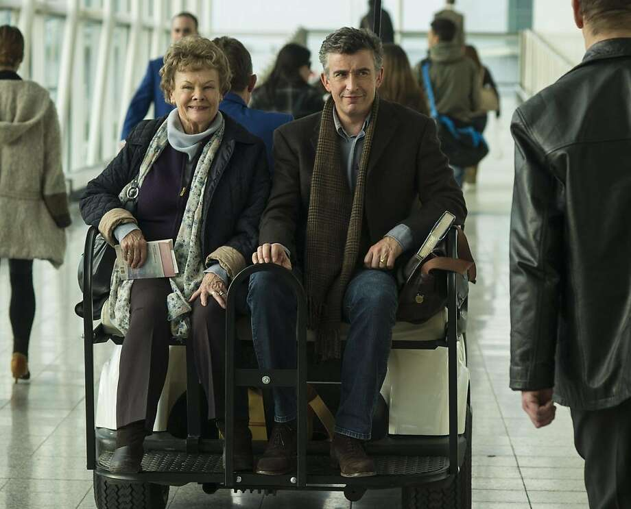 JUDI DENCH and STEVE COOGAN star in PHILOMENA Photo: Alex Bailey, The Weinstein Company
