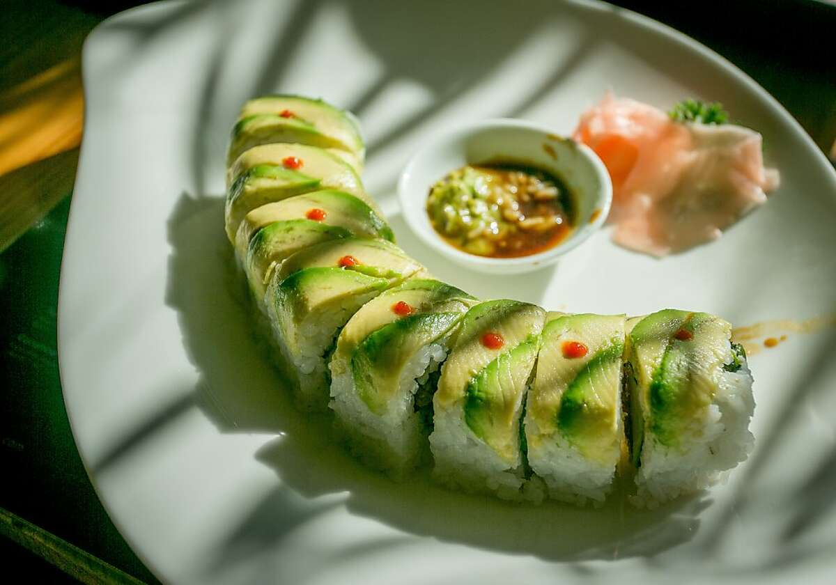 The Mexico City roll at Sunnyside Tokyo in Santa Rosa, Calif., is seen on November 20th, 2013.